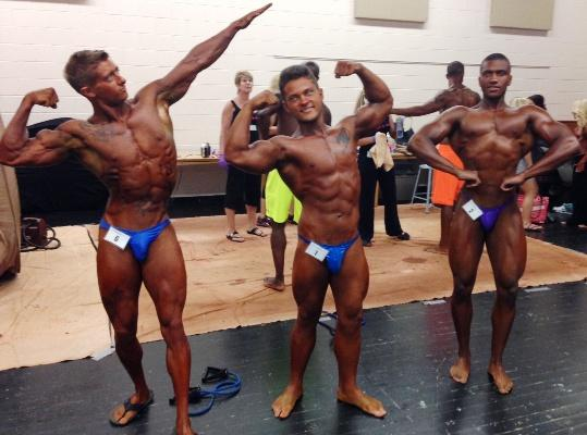Some of our Bodybuilding guys!